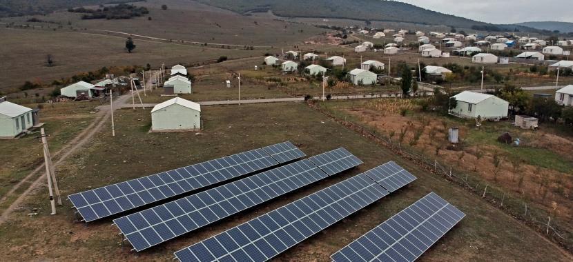 Solet Technics saulės elektrinės gruzijoje