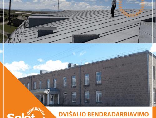 Saulės elektrinės ant armėnijos pastatų stogų įrengs Solet Technics