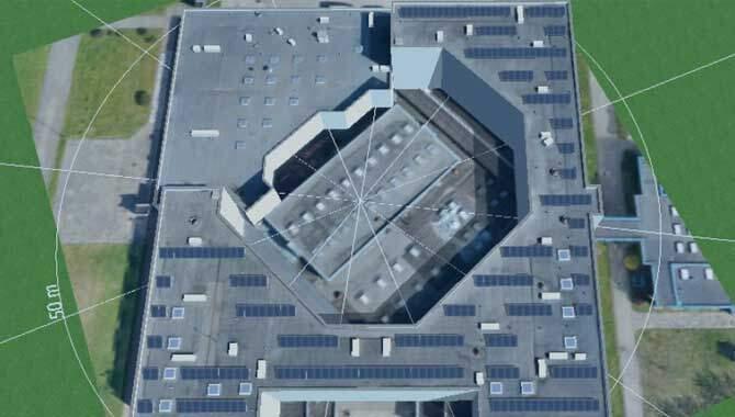 Solet Technics PVSOL saulės elektrinės vizualizacija