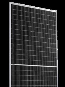 Risen 415 saulės modulis skaidriame fone