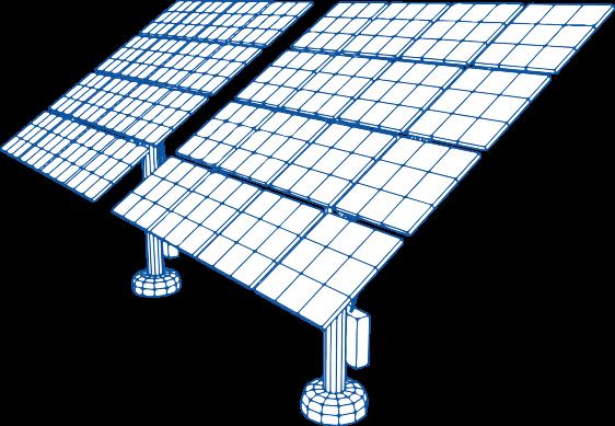 saules baterijos melyna solet technics