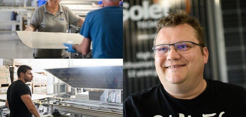 Solet Technics gamykla ir generalinis direktorius Andrius Karazinas apie