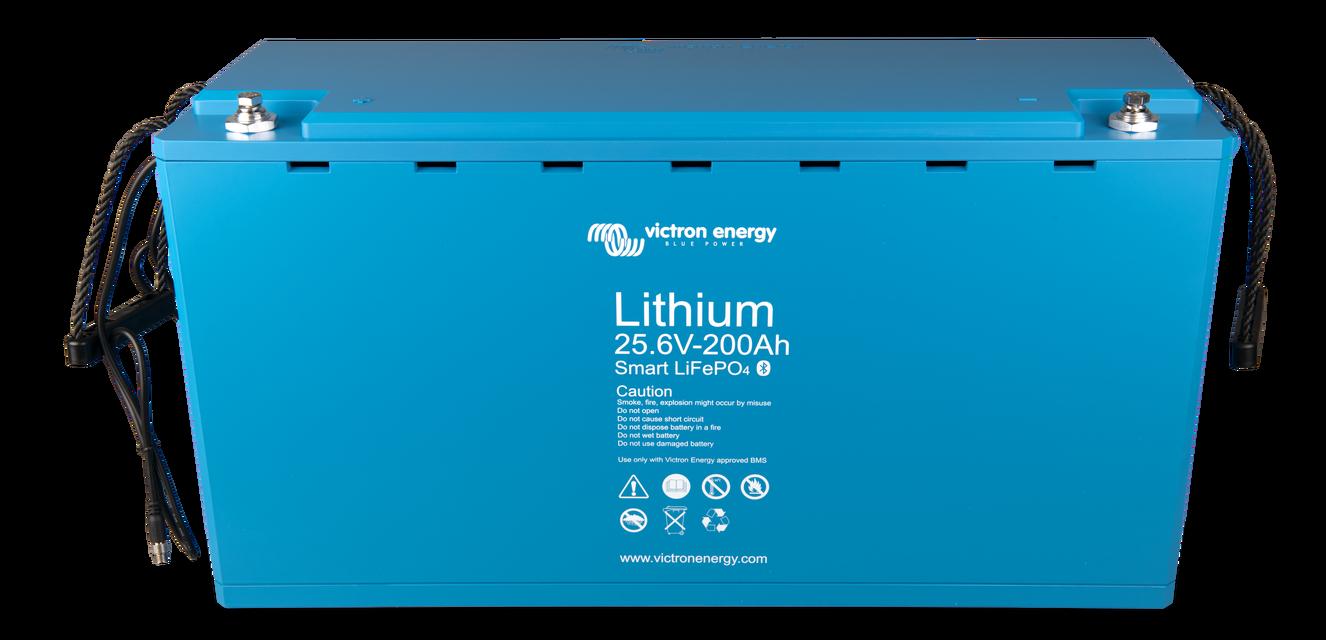 Victron LiFePO4 baterija autonominei saules elektrinei