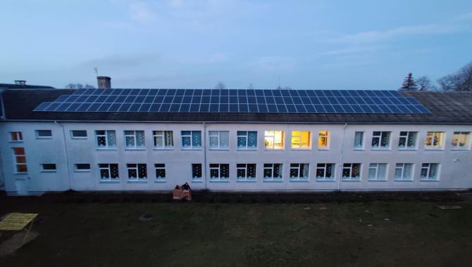 Pagėgių saulės jėgainė 50kW