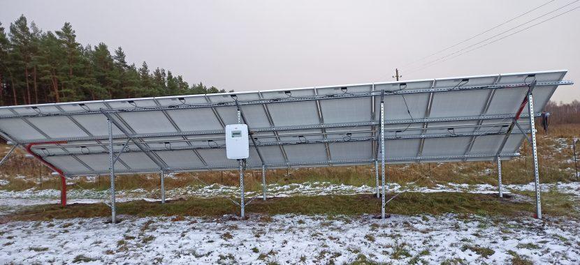 antžeminė saulės elektrinės sistema