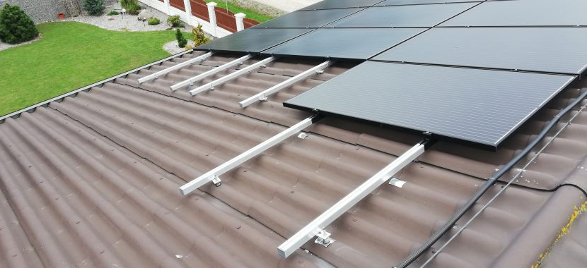 saulės baterijų profiliai