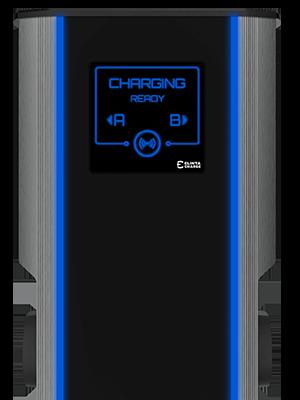 elinta city charge v2 elektromobilio krovimo stotele skaidriame fone