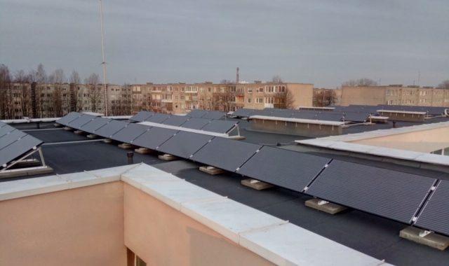 saulės elektrinė mokyklai