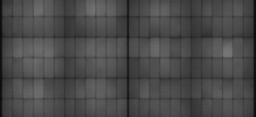Solet DMH elektroliminoscencinė nuotrauka