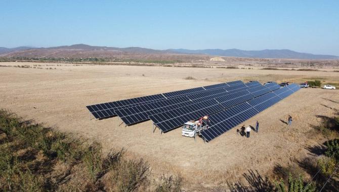 Saulės elektrinė sakartvele kalnuose įrengė Solet technics