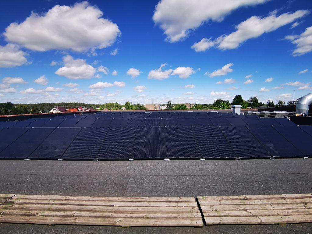 saulės jėgainė rūdiškėse
