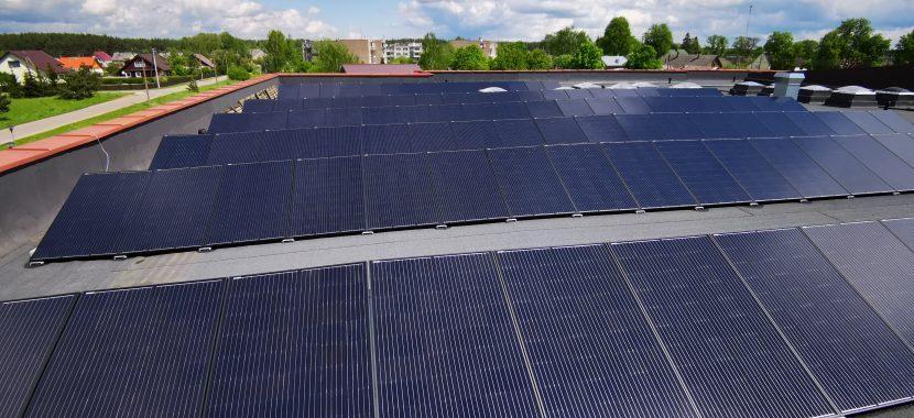 visiškai juodos saulės baterijos kaina