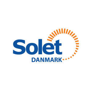 Solet Danmark logotipas skaidrus