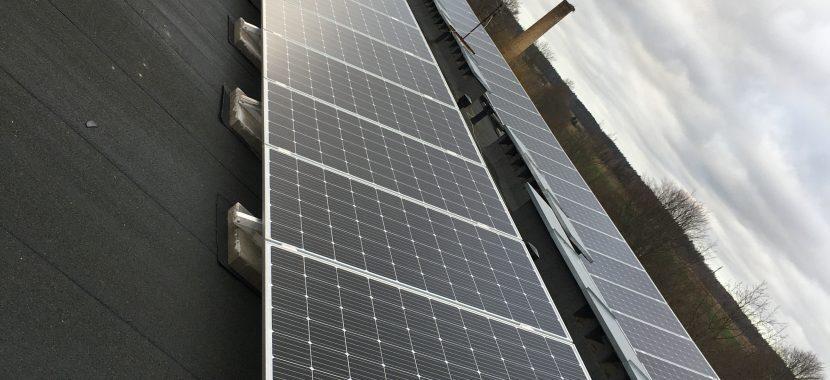 Švėkšnos saulės elektrinės balastinė sistema