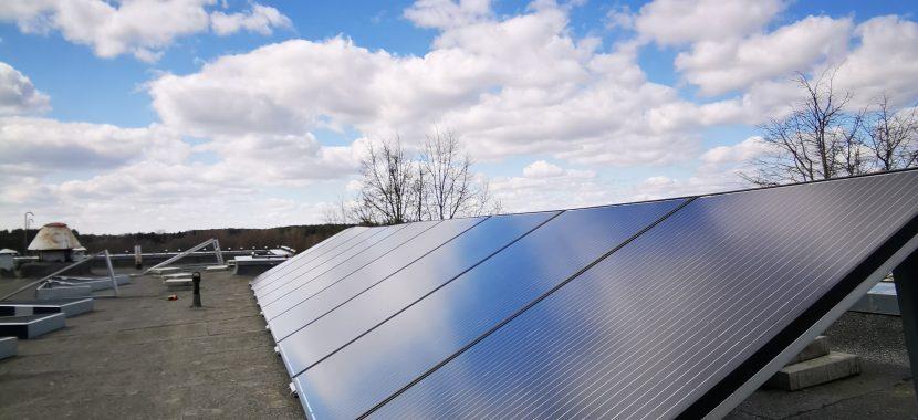 corab balastinė sistema fotovoltiniams solet photovoltaics moduliams