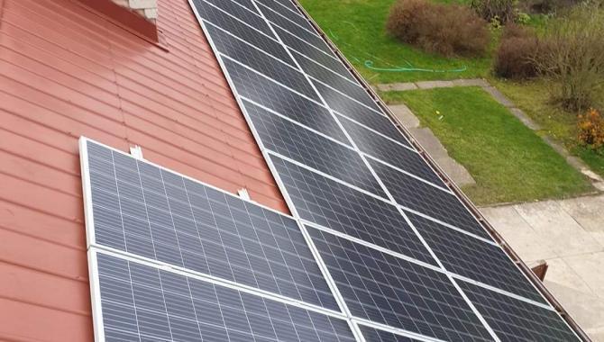 saulės elektrinė iš viršaus