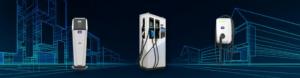 FIMER elektromobilių (EV) įkrovimo stotelių modeliai